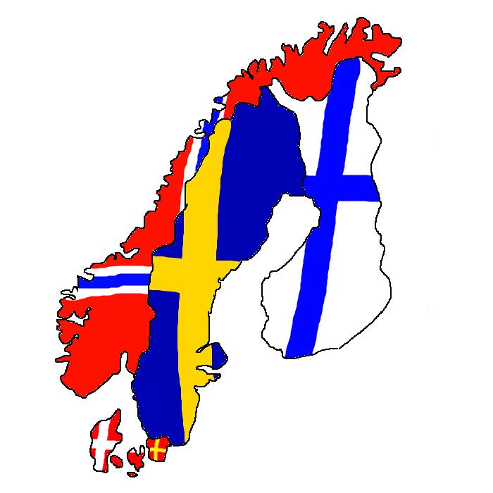 Nordics flag