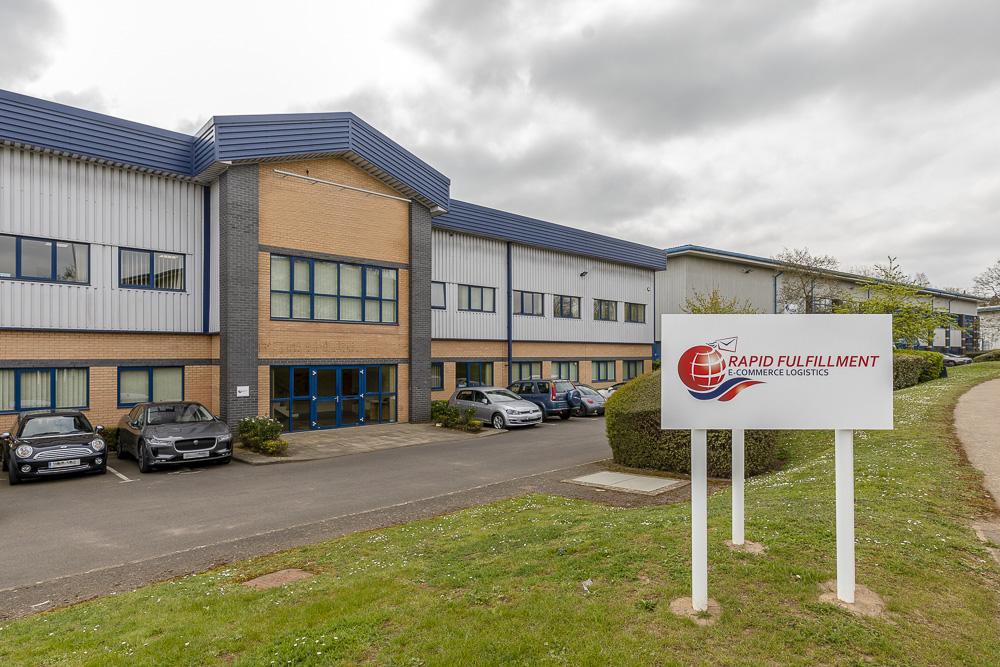 Rapid Fulfilment UK warehouse
